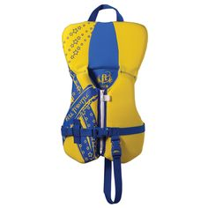 Full Throttle Rapid Dry PFD - Infant to 30lbs - Yellow/Blue - https://www.boatpartsforless.com/shop/full-throttle-rapid-dry-pfd-infant-to-30lbs-yellowblue/
