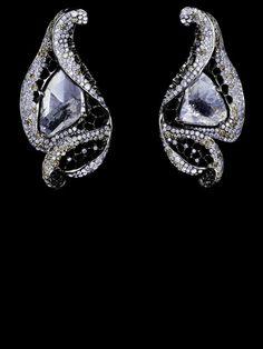 Gems Jewelry, High Jewelry, Jewelry Box, Jewelery, Jewellery Earrings, Dimonds, Family Jewels, Jewelry Boards, Champagne Diamond
