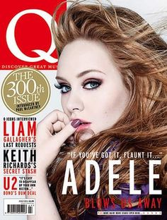 Adele on the cover of Q Magazine Music Love, My Music, Adele Love, Adele Style, Adele Music, Xl Recordings, Liam Gallagher, Pre Production, Music Magazines