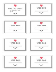 Pack de vales. No aplicable con otras promociones. Valido hasta que me dejes de querer. No son reutilizables, no debes abusar - Pack of vouchers. Not applicable with other promotions. Valid until you stop wanting me. They are reusable, you should not abuse.