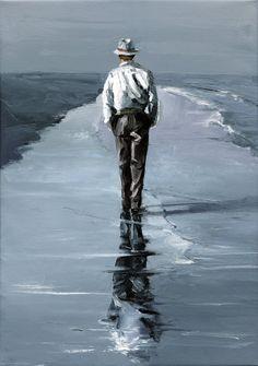 Victor Bauer - Walking Man