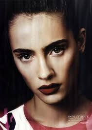 Image result for red lips fashion editorial