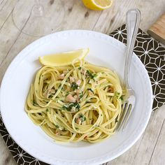 Linguine with Clam Sauce | Tracey's Culinary Adventures