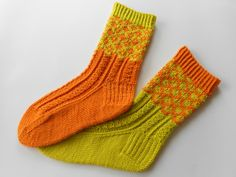 Ravelry: Project Gallery for Fred & George Socks pattern by Rachel Coopey Crochet Socks, Knitting Socks, Knit Crochet, Knit Socks, Lots Of Socks, My Socks, Ravelry, Colorful Socks, Boot Cuffs