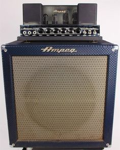 Ampeg B15-N PortaFlex Fliptop 1960's Blue Check Bass Amplifier VINTAGEThis vintage Ampeg bass amplifier is in great condition for its' age. The tolex is in good condition, complete with the cabinet logo. The Ampeg light is also functioning. This amp comes complete with the original speakers and t...