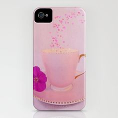 Cup of Love iPhone Case by Ally Coxon - $35.00