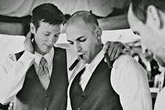 Wedding Recap: The Reception. Groom and Best Man photo. Wedding. Wedding photography