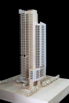 Richard Meier & Partners revelan el diseño de su primer edificio en Taiwan,Cortesía de Richard Meier & Partners - Inspiration for Residential tower by SI architects