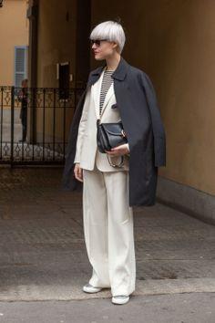 White Out! | Linda Tol | I Believe in Pink - Milan Woman Fashion Week FW14