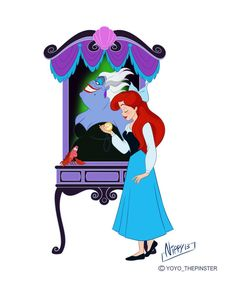 Vanellope Vanity for Disney Princess Ariel, Disney Nerd, Disney Marvel, Disney Fan Art, Disney Girls, Disney Princesses, Ariel Ariel, Disney Style, Princess Art
