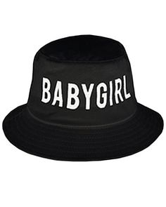 BABYGIRL BUCKET HAT back in stock!