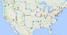 "Big data finally does something useful by plotting out ""the optimal road trip across the U.S."""