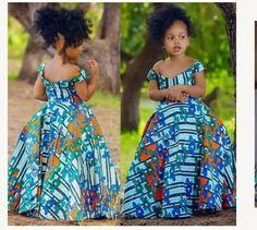 Latest Ankara Dress Styles - Loud In Naija Ankara Styles For Kids, African Dresses For Kids, Ankara Dress Styles, African Print Dresses, Girls Dresses, African Fashion Ankara, Latest African Fashion Dresses, African Print Fashion, Ankara Mode