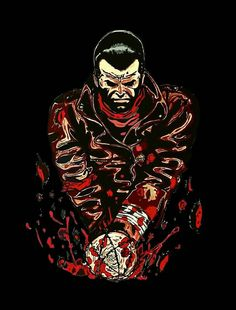Lucille Twd, Negan Lucille, The Moment You Realize, Fear The Walking Dead, Comic Books Art, Zombies, Bliss, Strength, Posters