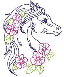 PRETTY HORSES - Designs By Enid | OregonPatchWorks