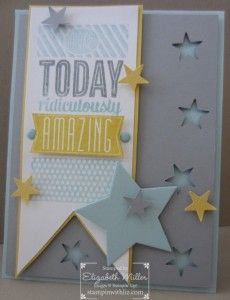 Amazing Birthday - Stampin' Up!