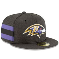 Baltimore Ravens New Era 2018 NFL Sideline Home Official Snapback  Adjustable Hat – Black 00af50ef6