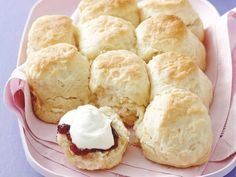 This is a foolproof method for making scones. Simply pour and mix. No more overworked dough. Try it. You'll never look back!