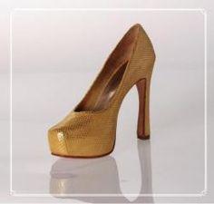 Estileto de cabritilla gamuzada, Producto de Deattar sobre Zapatos de Novias en Buenos Aires - Casamientos Online