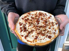 I do not usually like pumpkin, but I LOVE this pumpkin pie! I finally found my recipe for it after it being lost for nine years. So this is our Thanksgiving pie this year! Pumpkin Cream Pie, My Recipes, Favorite Recipes, Thanksgiving Pies, Yum Yum, Lost, Breakfast, Healthy, Desserts