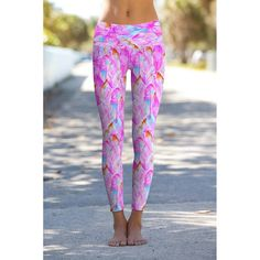 Impression Lucy Printed Performance Yoga Leggings - Women