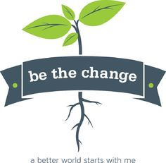 be the change- larger logo