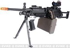 G&P New Generation Steel Receiver Full Metal M249 SAW Ranger Airsoft AEG Machine Gun