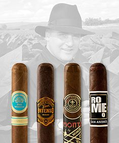 """Fantastic Four Cigar Event! ~ We'll be featuring A.J. Fernandez's highly acclaimed """"Fantastic Four"""" ~ H. Upmann by AJ, Gispert Intenso, Monte by AJ, and Romeo San Andrés cigars at Milan Tobacconists in Downtown Roanoke, VA Thursday, April 19, 2018 6:30 p.m. to 8:00 p.m. Tickets: $10.00 In Advance - $15.00 Day of Event. Please Click on the Image to go to our Website to Purchase Cigar Event Tickets and Read More About It!"""