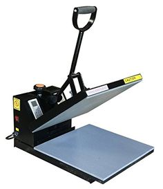 The Fancierstudio brand new digital heat press industrial quality 15 by 15-inch sublimation best t-shirt screen printing machine comes with some distinct