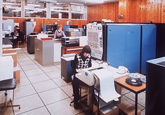 IBM S/360 Computer Room