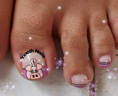 La Nails, Pedicures, Toe Nail Art, Stiletto Nails, Short Nail Manicure, Simple Toe Nails, Angel, Pedicure, Toe Polish