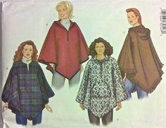 PONCHO Sewing Pattern - Women's Ponchos - PLUS SIZE