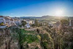 Ronda Sunrise by Thomas Russenberger