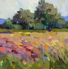 Almost Summer by Trisha Adams Oil ~ 12 x 12