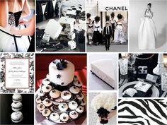 mariage ivoire, noir &blanc baroque idée planche inspiration déco originale noir blanc ivoire table salle riviera wedding Carnet d'inspiration mariage Mademoiselle Cereza