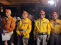Navajo Code-Sprecher werden geehrt (Bild: dpa Picture-Alliance)