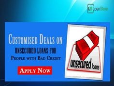Unsecured Loans for Bad Credit makes way for easy funds at affordable terms to deal with the difficult situations. Instant approval as well as easy to apply in UK, for more details visit here http://www.loan-store.co.uk/