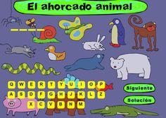 Hangman in Spanish: free and good for practicing animals in Spanish. Escuela infantil castillo de Blanca: EL AHORCADO DE ANIMALES