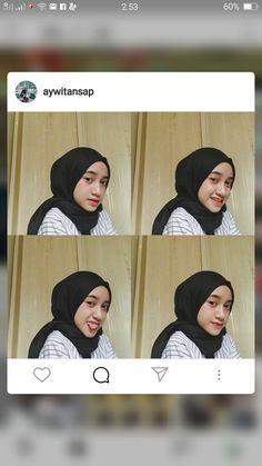 Ootd Hijab, Girl Hijab, Hijab Outfit, Selfie Poses, Instagram Quotes, Chara, Hijab Fashion, Ulzzang, Makeup Looks