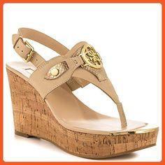 09dabb072273 Guess Marcina Women US 9.5 Tan Wedge Sandal - Sandals for women ( Amazon  Partner-Link)