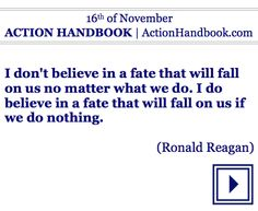 Act!  ACTION HANDBOOK [Lifetime Version]  For your every day of any year.  #ebook #quoteoftheday #sundaymotivation