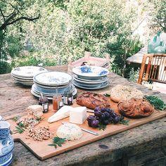 barra de quesos por White Market en la binevenida a la primavera de Gang and the wool con Mermeladas Si.Gi. de #invierno y #hierbas del campo
