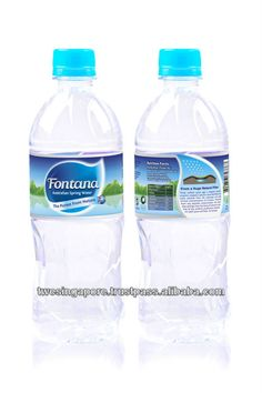 Mineral water 1.5L PET bottle $0.54~$0.57