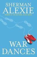 """War dances by Sherman Alexie- """"A collection of short stories includes the title story, in which a famous writer, who just learned he may have a brain tumor, must decide how to care for his distant, American Indian father who is slowly dying."""""""