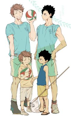 Oikawa......why is his hand...ya know what Nevermind