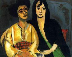 Aicha and Laurette, 1917 Henri Matisse