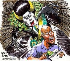 Taís Paranhos: Latuff  e o Vampirão!!!