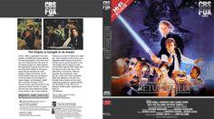 Star Wars Episode 6 Blu-ray Custom Cover