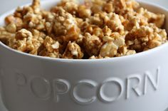 EVERYDAY SISTERS: Caramel Toffee Popcorn