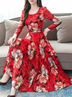 Indian Gowns Dresses, Prom Dresses With Sleeves, Indian Fashion Dresses, Maxi Dresses, Floral Dress Outfits, Tutu Skirts, Party Dresses, Elegant Dresses Classy, Stylish Dresses For Girls